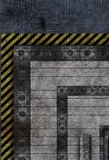 Frontline Gaming FLG Mats: Industrial 1 6x4'