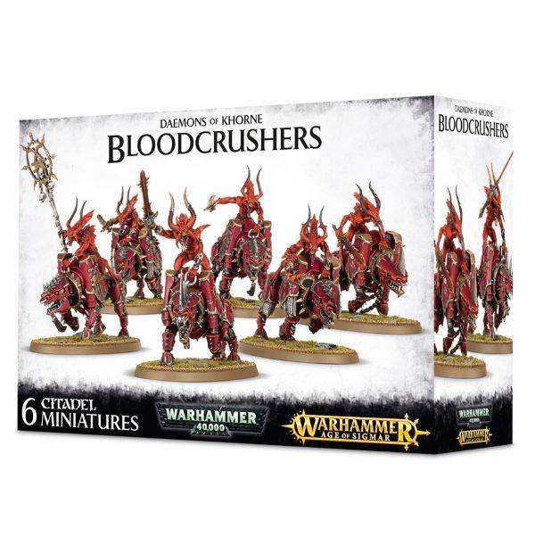 Games Workshop Daemons Of Khorne Bloodcrushers