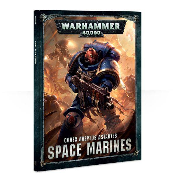 Games Workshop Codex: Space Marines