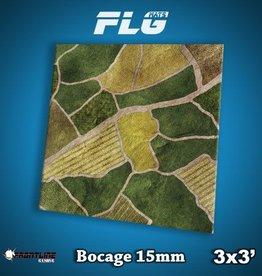 Frontline-Gaming FLG Mats: 15mm Bocage 3x3'