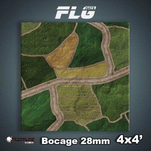 Frontline Gaming FLG Mats: 28mm Bocage 4x4'