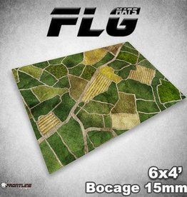 Frontline-Gaming FLG Mats: 15mm Bocage 6x4'