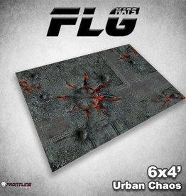 Frontline-Gaming FLG Mats: Urban Chaos 6x4'