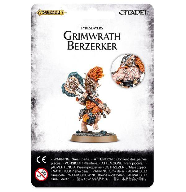 Games Workshop Grimwrath Berzerker