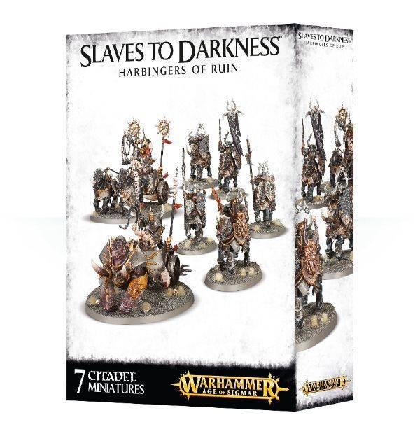 Games Workshop Slaves to Darkness Harbingers of Ruin