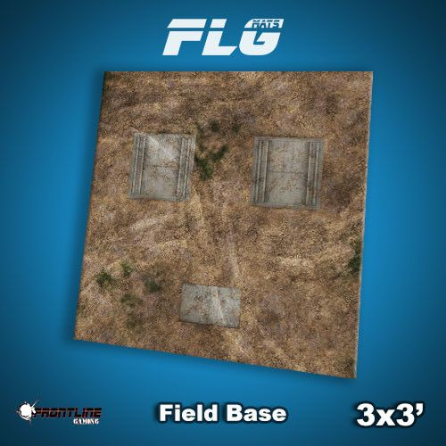 Frontline Gaming FLG Mats: Field Base 3x3'