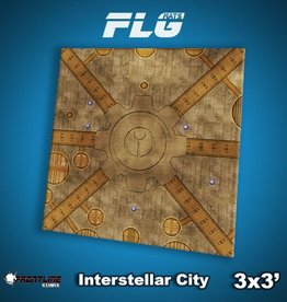 Frontline-Gaming FLG Mats: Interstellar City 3x3'