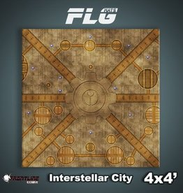 Frontline-Gaming FLG Mats: Interstellar City 4x4'