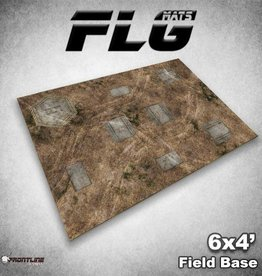 Frontline-Gaming FLG Mats: Field Base 6x4'