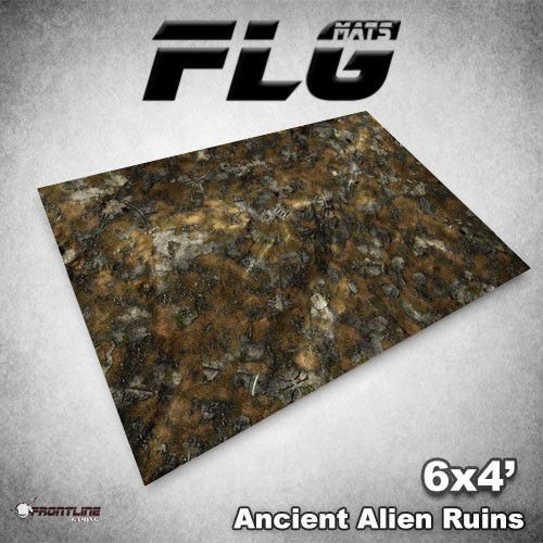 Frontline-Gaming FLG Mats: Ancient Alien Ruins 6x4'