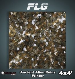 Frontline-Gaming FLG Mats: Ancient Alien Ruins Winter 4x4'