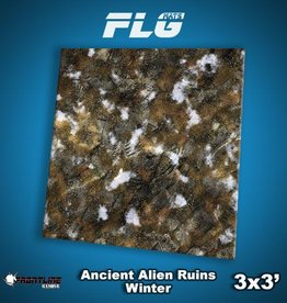 Frontline Gaming FLG Mats: Ancient Alien Ruins Winter 3x3'