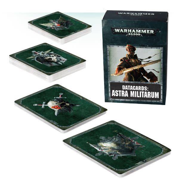 Games Workshop Datacards: Astra Militarum