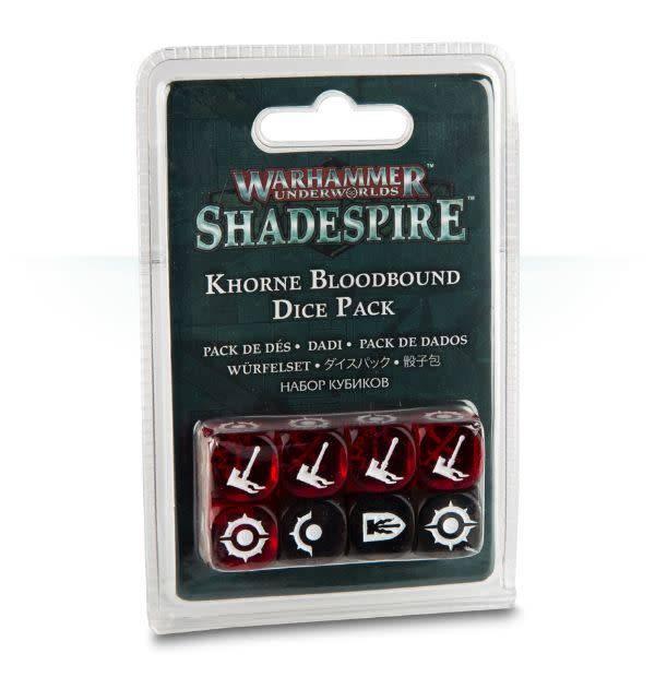 Games Workshop Warhammer Underworlds: Shadespire - Khorne Bloodbound Dice Pack