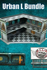 Frontline Gaming ITC Terrain Series: Urban L Bundle