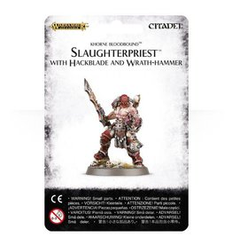 Games Workshop Slaughterpriest with Hackblade and Wrath-hammer
