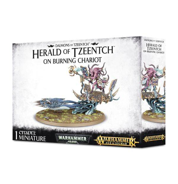 Games Workshop Herald of Tzeench on Burning Chariot
