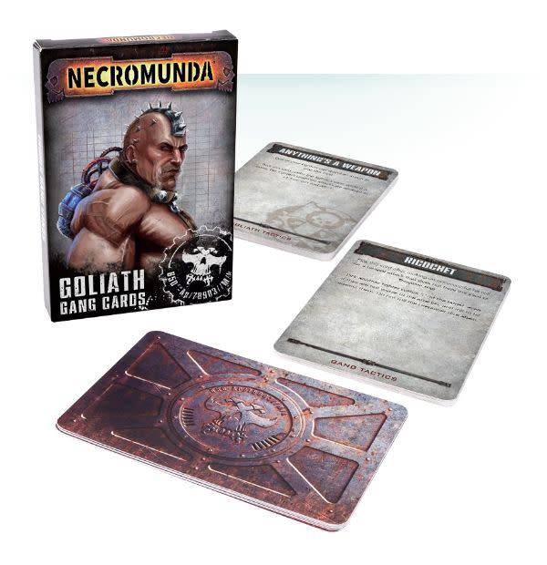 Games Workshop Goliath Gang Cards