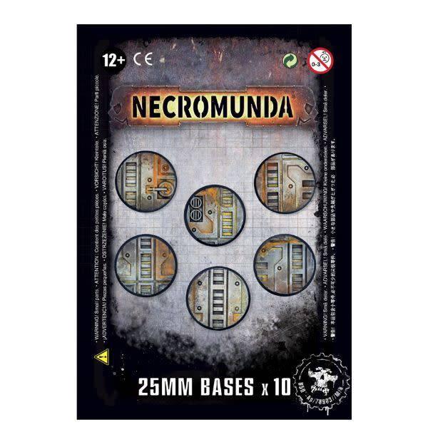 Games Workshop Necromunda 25mm Bases