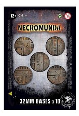 Games Workshop Necromunda 32mm Bases