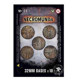 Games Workshop Necromunda 32mm Bases