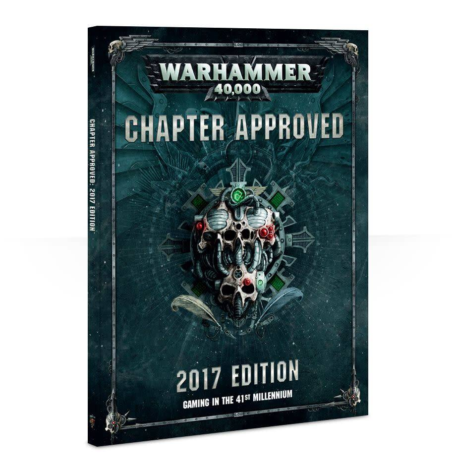 Games Workshop Chapter Approved 2017