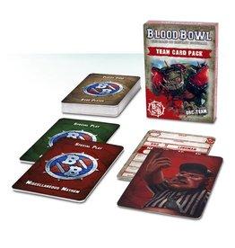 Games Workshop Blood Bowl Team Card Pack – Orc Team