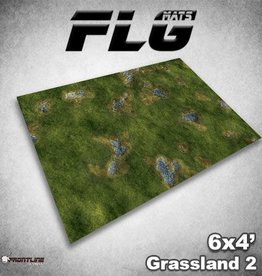 Frontline-Gaming FLG Mats: Grasslands 2 6x4'