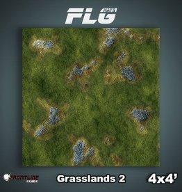 Frontline-Gaming FLG Mats: Grasslands 2 4x4'