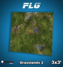 Frontline-Gaming FLG Mats: Grasslands 2 3x3'