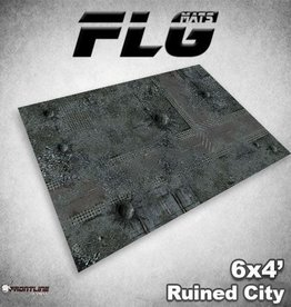 Frontline-Gaming FLG Mats: Ruined City 6x4'