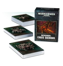 Games Workshop Datacards: Chaos Daemons