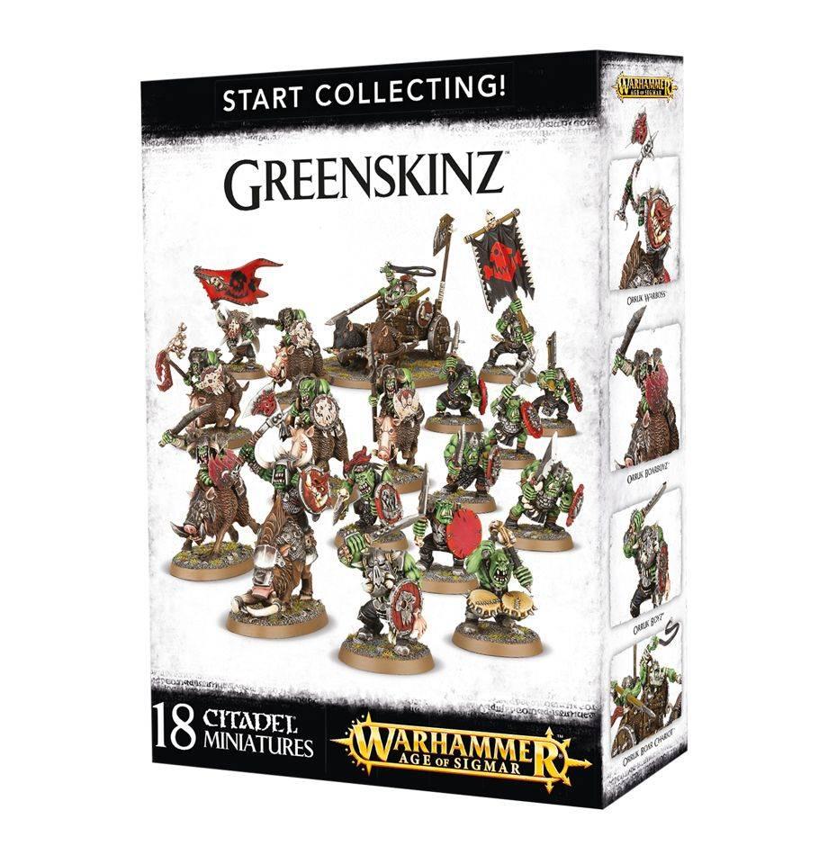 Games Workshop Start Collecting! Greenskinz