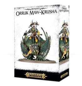 Games Workshop Megaboss on Maw-krusha