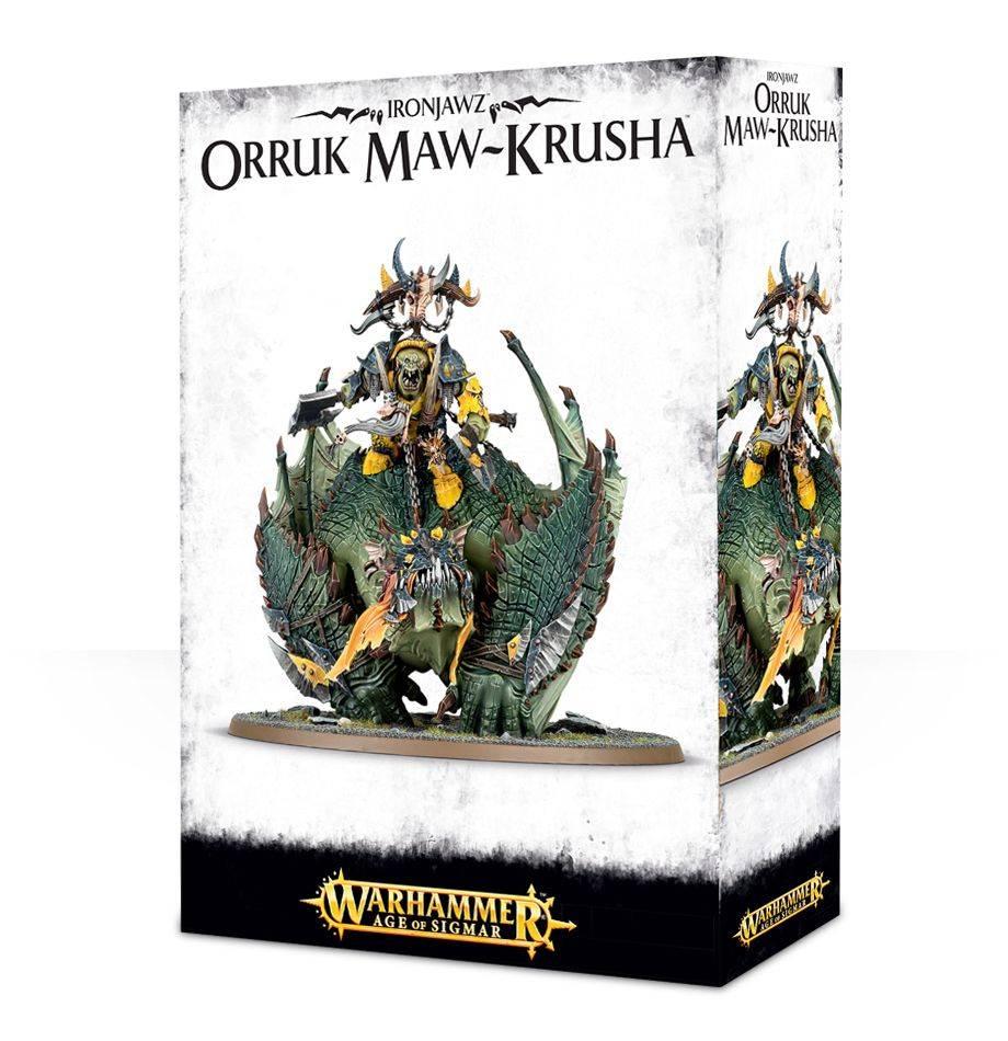 Games Workshop Megaboss on Maw-krusha