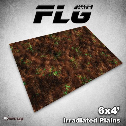 Frontline-Gaming FLG Mats: Irradiated Plains 6x4'