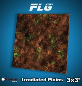 Frontline-Gaming FLG Mats: Irradiated Plains 3x3'