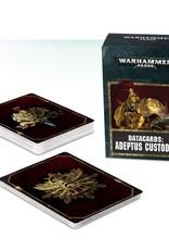 Games Workshop Datacards: Adeptus Custodes