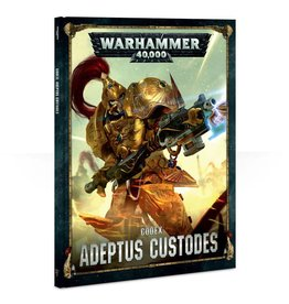Games Workshop Codex: Adeptus Custodes