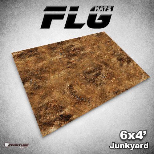 Frontline Gaming FLG Mats: Junkyard 6x4'