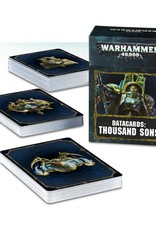 Games Workshop Datacards: Thousand Sons