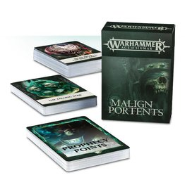 Games Workshop Malign Portents Cards