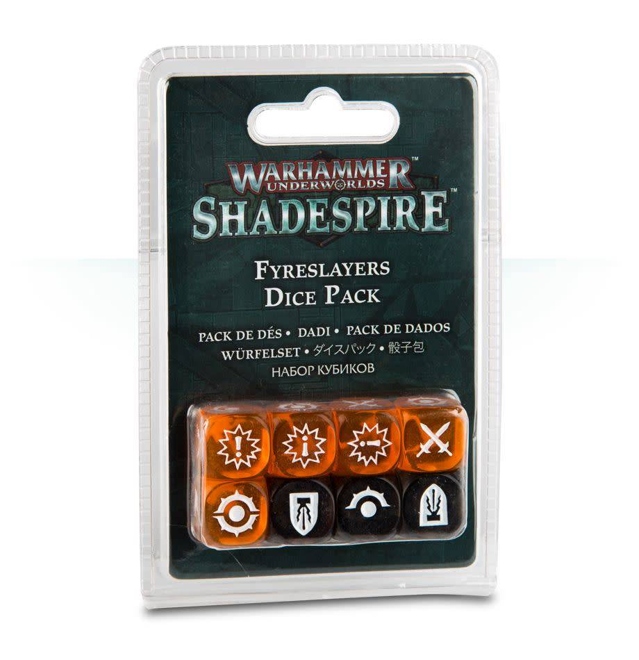 Games Workshop Warhammer Underworlds: Shadespire – Fyreslayers Dice Pack