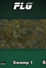 Frontline-Gaming FLG Mats: Swamp 1 6x3'