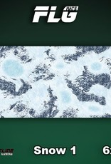 Frontline Gaming FLG Mats: Snow 1 6x3'