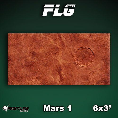 Frontline Gaming FLG Mats: Mars 1 6x3'