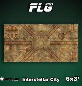 Frontline-Gaming FLG Mats: Interstellar City 6x3'