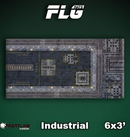Frontline-Gaming FLG Mats: Industrial 1 6x3'
