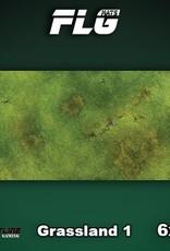 Frontline Gaming FLG Mats: Grasslands 1 6x3'