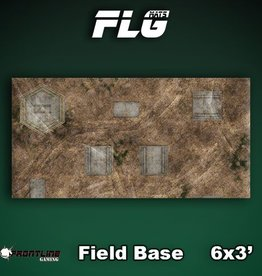 Frontline-Gaming FLG Mats: Field Base 6x3'